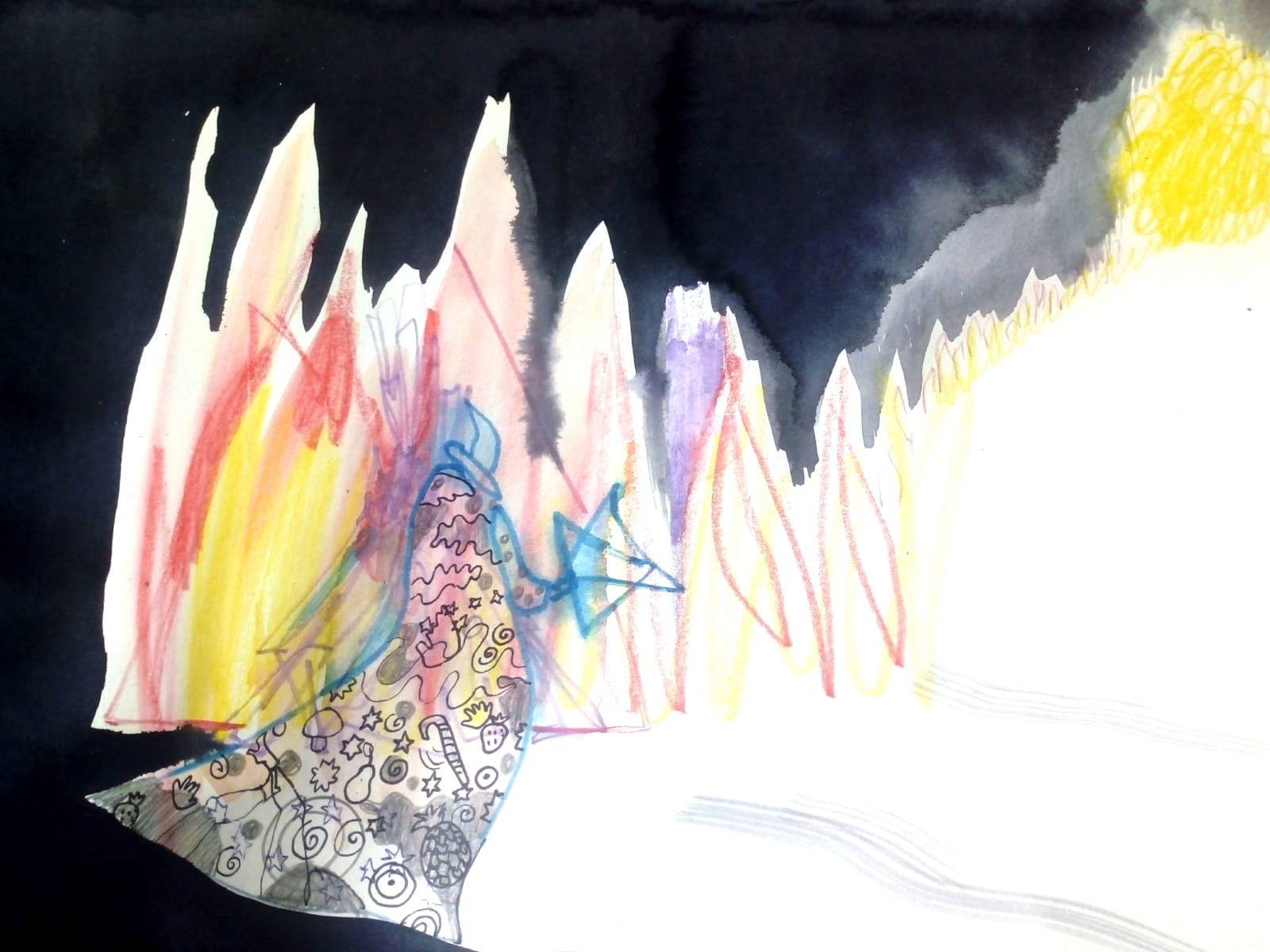 Painting: Sophie Iremonger